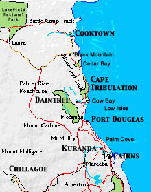 Map Of Cairns Cairns Maps Map Of Cairns