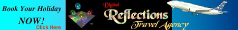 [Digital Reflections Travel Agency Ad.]